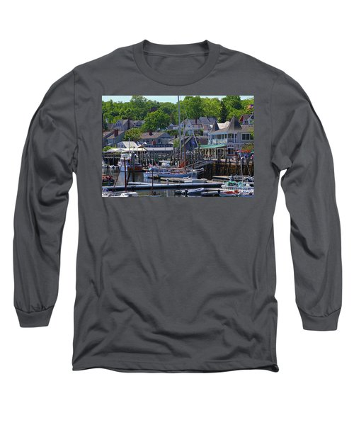 Camden Village Maine Long Sleeve T-Shirt