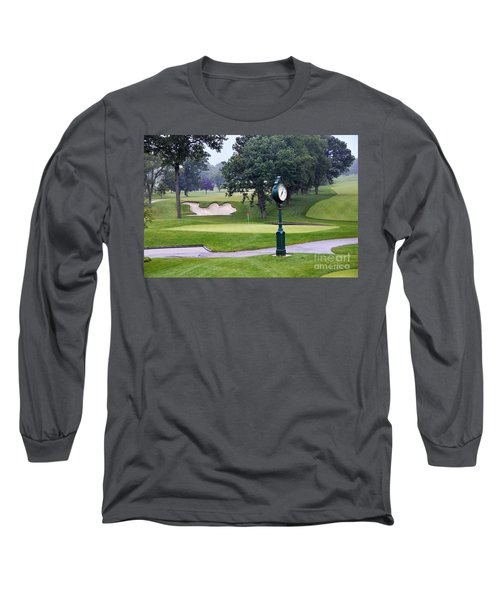 Camel Sand Trap In Medinah Long Sleeve T-Shirt by Catherine Sherman