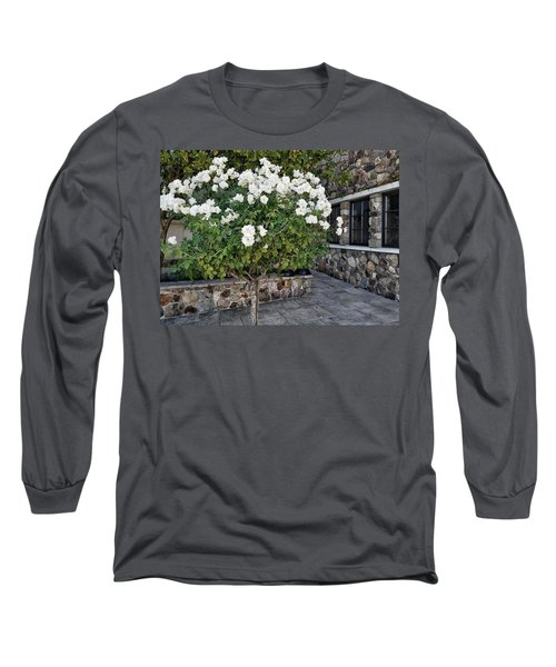 Camellia Blossoms Long Sleeve T-Shirt