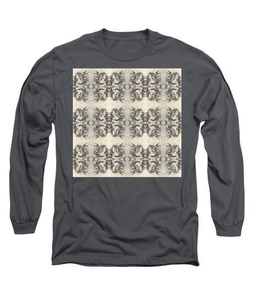 Cameo Mirror Image Long Sleeve T-Shirt