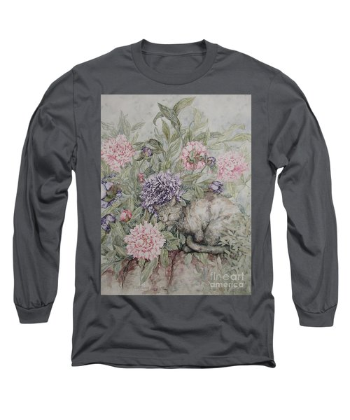 Camouflaged Long Sleeve T-Shirt by Kim Tran