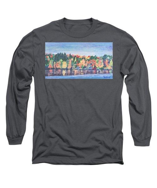 Camp Archbald At Ely Lake Long Sleeve T-Shirt