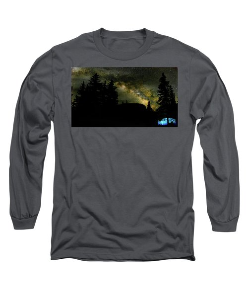 Camping Under The Milky Way 2 Long Sleeve T-Shirt