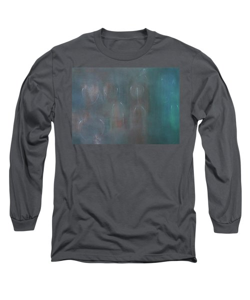 Can You Hear The News Of Tomorrow? Long Sleeve T-Shirt by Min Zou