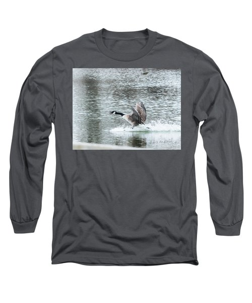 Canada Goose Landing 2 Long Sleeve T-Shirt by Edward Peterson