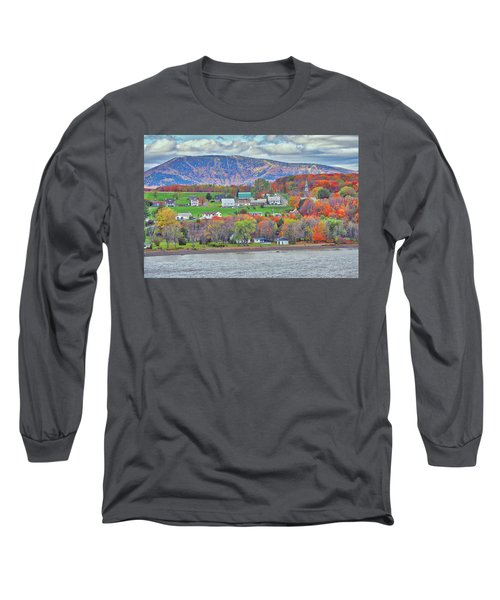 Canadian Fall Foliage Long Sleeve T-Shirt