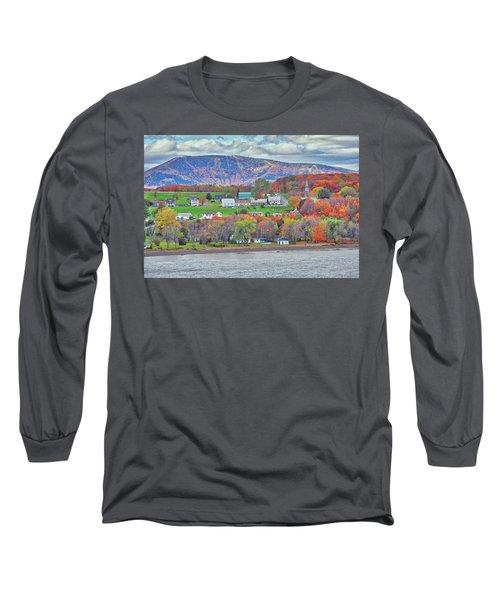 Canadian Fall Foliage Long Sleeve T-Shirt