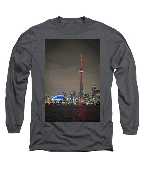 Canadian Landmark Long Sleeve T-Shirt