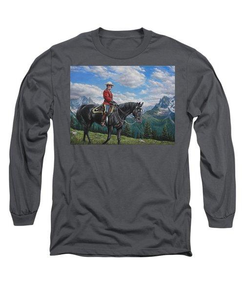 Canadian Majesty Long Sleeve T-Shirt