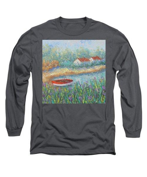 Canal Du Midi Provence Long Sleeve T-Shirt