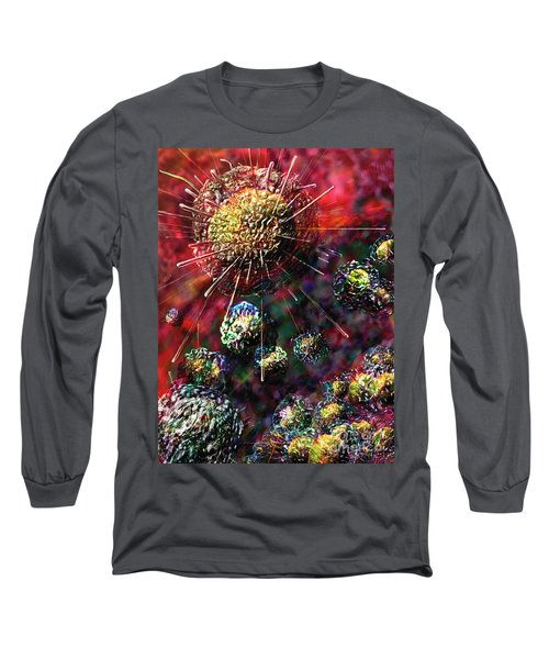Cancer Cells Long Sleeve T-Shirt