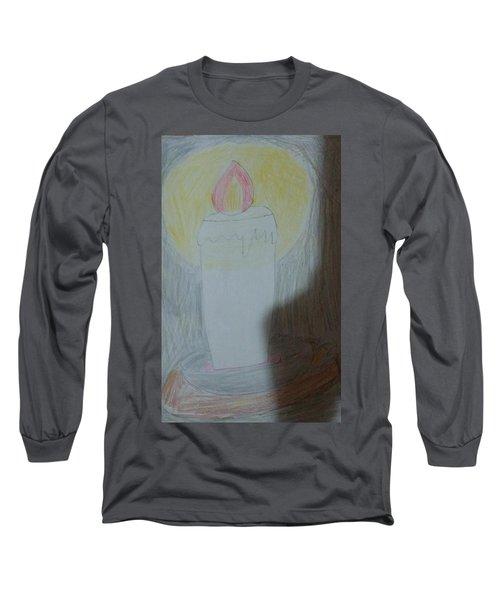 Candle Long Sleeve T-Shirt