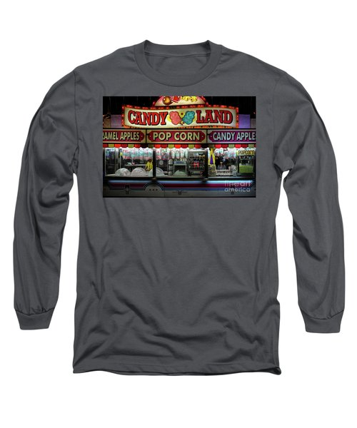Candy Land Long Sleeve T-Shirt by M G Whittingham