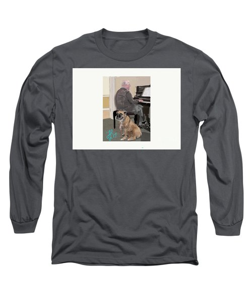 Canine Composition Long Sleeve T-Shirt