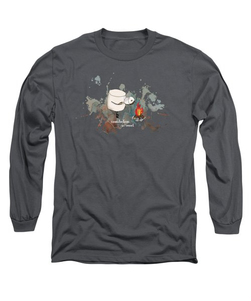 Cannibalism Is Sweet Illustrated Long Sleeve T-Shirt