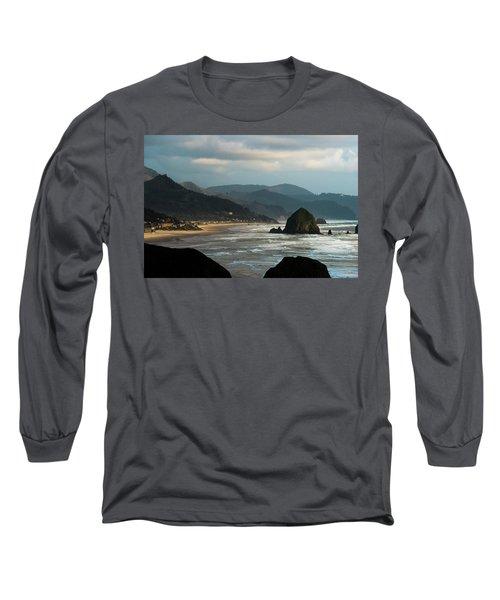 Cannon Beach, Oregon Long Sleeve T-Shirt