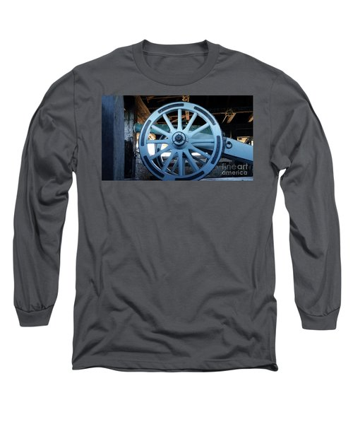Cannon Long Sleeve T-Shirt by Raymond Earley