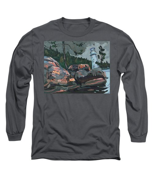 Canoe Lake Light Long Sleeve T-Shirt
