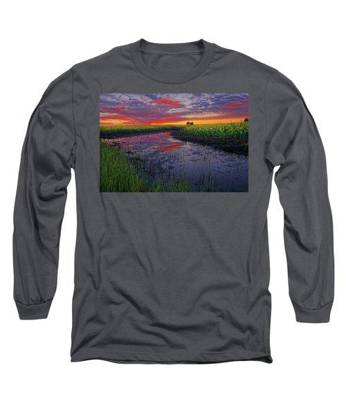 Canola At Dawn Long Sleeve T-Shirt