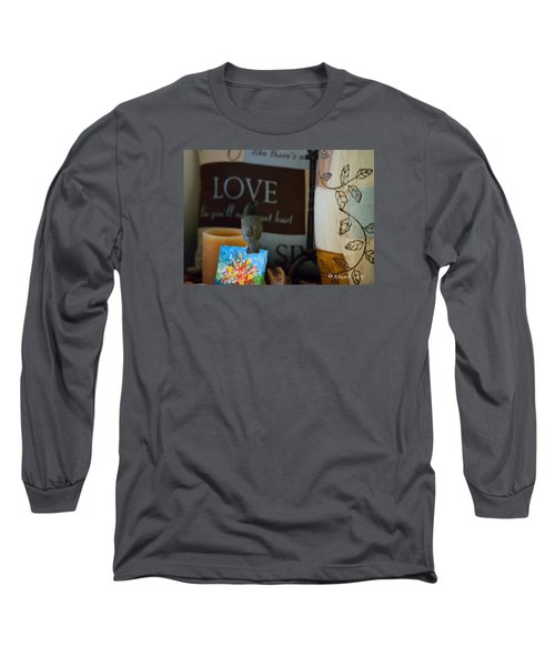 Canto De Amor... Long Sleeve T-Shirt by Edgar Torres