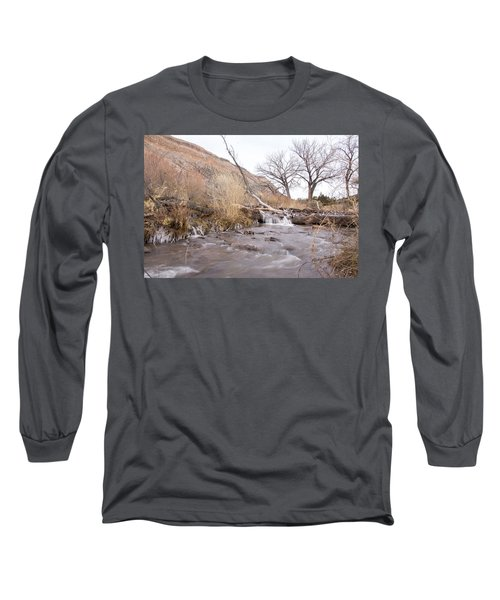 Canyon Stream Current Long Sleeve T-Shirt by Ricky Dean