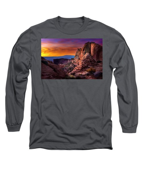 Canyonlands Sunrise Long Sleeve T-Shirt