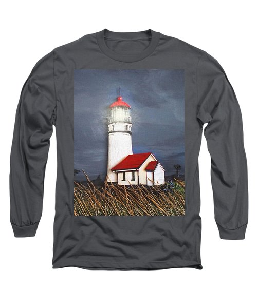 Cape Blanco Glow Long Sleeve T-Shirt by Wendy McKennon