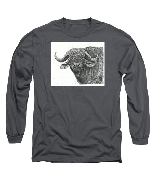 Cape Buffalo Long Sleeve T-Shirt