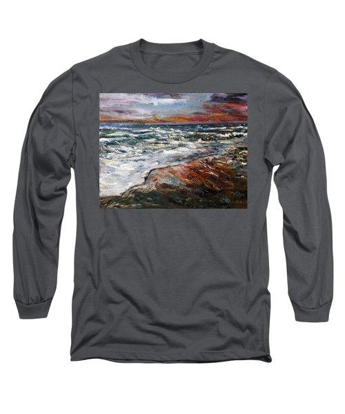 Cape Cod Sunset 1 Long Sleeve T-Shirt