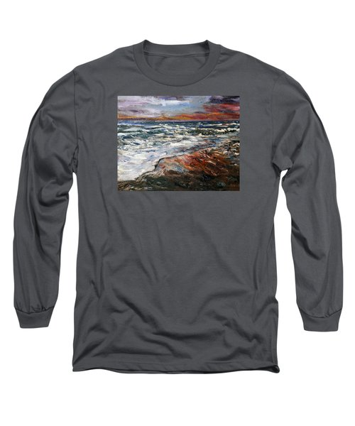 Cape Cod Sunset 1 Long Sleeve T-Shirt