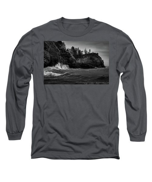 Cape Disappointment Lighthouse Long Sleeve T-Shirt