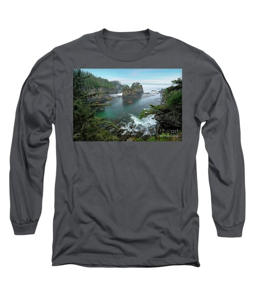 Cape Flattery North Western Point Long Sleeve T-Shirt