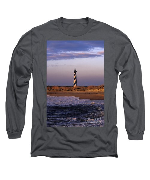 Cape Hatteras Lighthouse At Sunrise - Fs000606 Long Sleeve T-Shirt