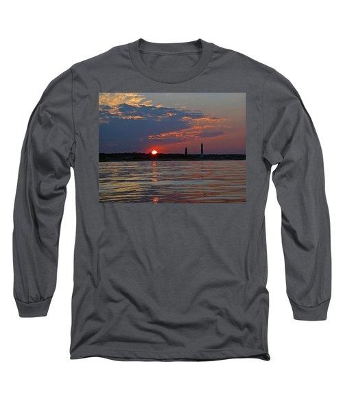 Cape Henry Sunset Long Sleeve T-Shirt