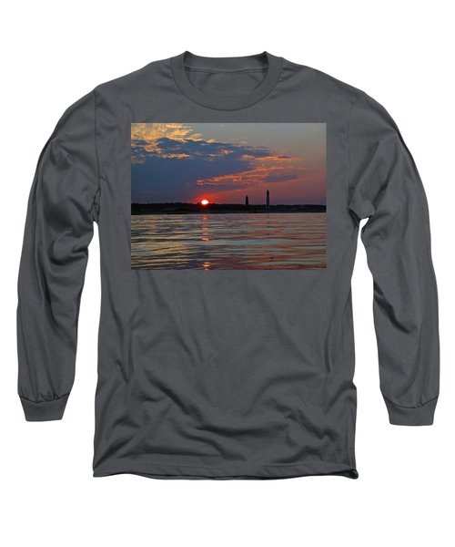 Cape Henry Sunset Long Sleeve T-Shirt