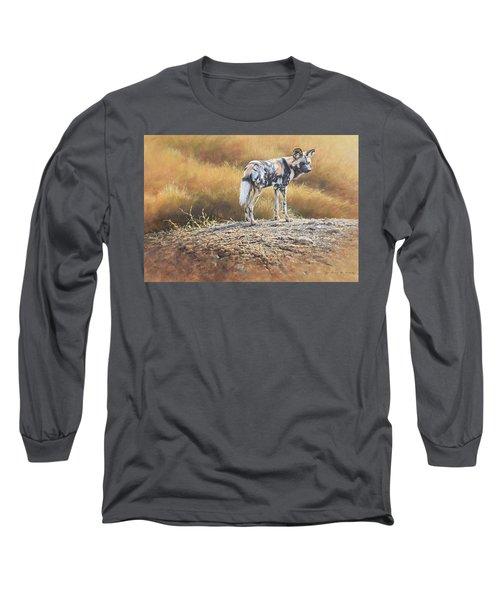 Cape Hunting Dog Long Sleeve T-Shirt