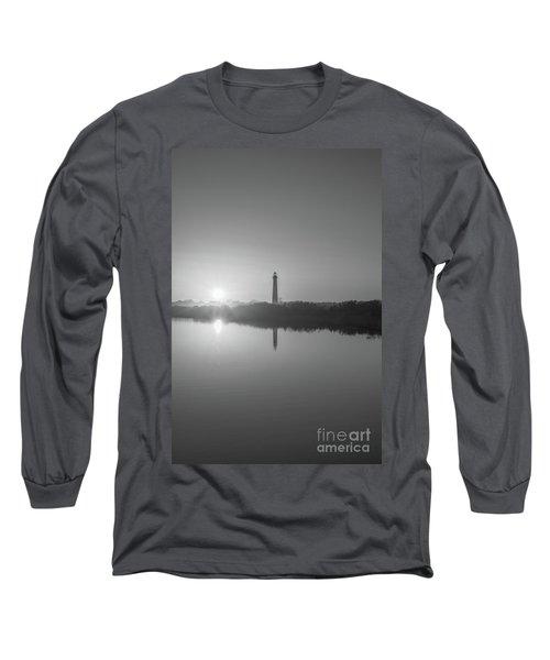 Cape May Reflections Bw Long Sleeve T-Shirt