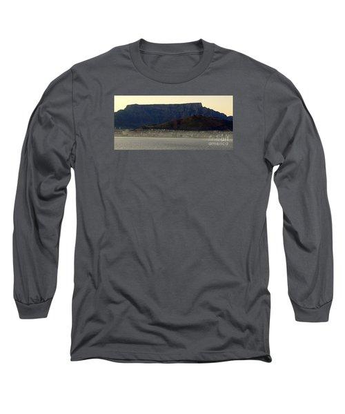Cape Town Under Table Rock Long Sleeve T-Shirt by John Potts
