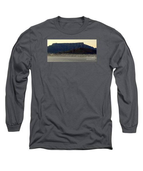 Cape Town Under Table Rock Long Sleeve T-Shirt