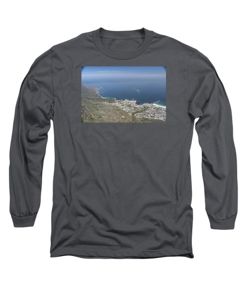 Capetown, South Africa Long Sleeve T-Shirt by Bev Conover