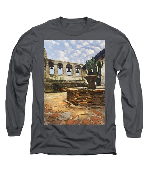 Capistrano Fountain Long Sleeve T-Shirt