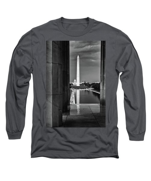 Capita And Washington Monument Long Sleeve T-Shirt