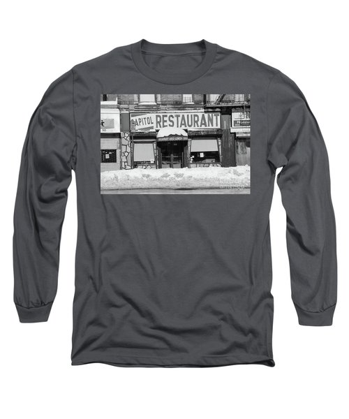 Long Sleeve T-Shirt featuring the photograph Capitol Winter by Cole Thompson