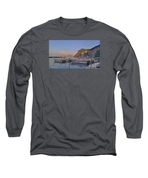 Capri- Harbor Boats Long Sleeve T-Shirt