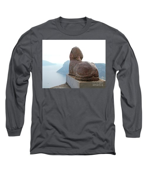 Long Sleeve T-Shirt featuring the photograph Capri, Villa San Michele 1 by Wilhelm Hufnagl