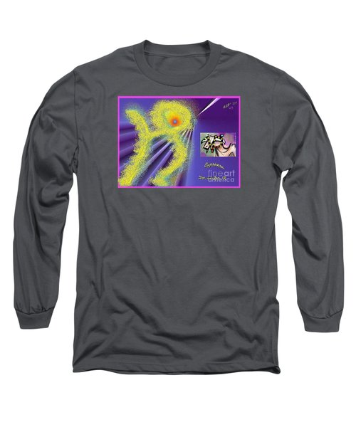 Long Sleeve T-Shirt featuring the digital art Capricorn by The Art of Alice Terrill