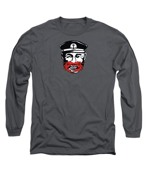 Captain Crab Of Baltimore Maryland Long Sleeve T-Shirt