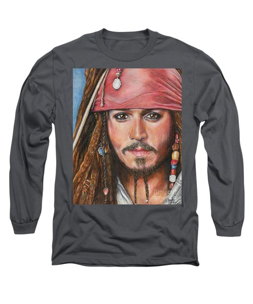 Captain Jack Long Sleeve T-Shirt