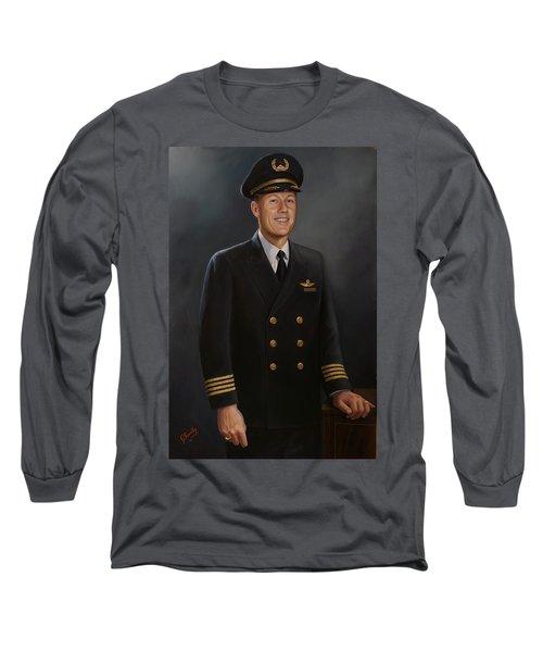 Captain Max Livingston Long Sleeve T-Shirt