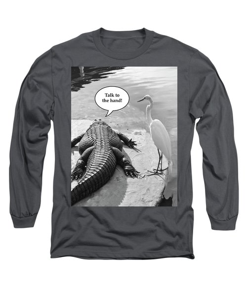 Captions Long Sleeve T-Shirt
